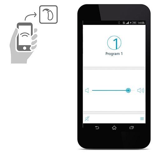 aplikacja touch control